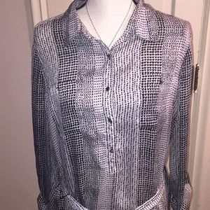 Lovely Specked Tunic by Liz Claiborne